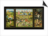 Der Garten der Lüste|The Garden of Earthly Delights, ca. 1500 Kunstdrucke von Hieronymus Bosch