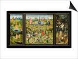 Maallisten ilojen puutarha, n. 1500 Posters tekijänä Hieronymus Bosch