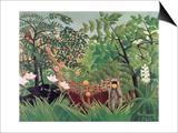 Exotic Landscape, 1910 Print by Henri Rousseau