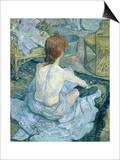 Woman at Her Toilet, 1896 Láminas por Henri de Toulouse-Lautrec