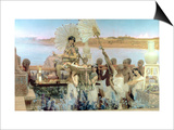 The Finding of Moses by Pharaoh's Daughter, 1904 Posters by Sir Lawrence Alma-Tadema
