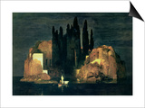 The Isle of the Dead, 1880 Láminas por Arnold Bocklin