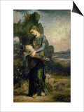Orpheus, 1865 Prints by Gustave Moreau