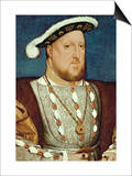 King Henry VIII Prints by Hans Holbein the Younger