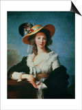 Portrait of the Duchess of Polignac (circa 1749-93) Prints by Elisabeth Louise Vigee-LeBrun