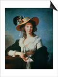 Portrait of the Duchess of Polignac (circa 1749-93) Prints by Elisabeth Louise Vigee-LeBrun