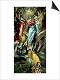 The Assumption of the Virgin Prints by  El Greco