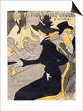 "Poster Advertising ""Le Divan Japonais"", 1892 Prints by Henri de Toulouse-Lautrec"