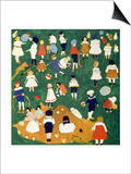 Children, 1908 Prints by Kasimir Malevich