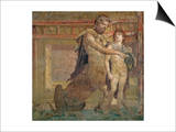 The Education of Achilles by Chiron, from Herculaneum Print