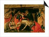 Lamentation of Christ. circa 1490 Art by Sandro Botticelli