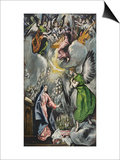The Annunciation Poster by  El Greco