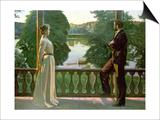 Sven Richard Bergh - Nordic Summer Evening, 1899-1900 Plakát