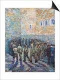 The Exercise Yard, or the Convict Prison, c.1890 Poster von Vincent van Gogh