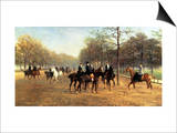 The Morning Ride, Rotten Row, Hyde Park, 1894 Posters by Heywood Hardy