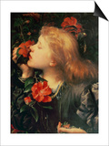 Portrait of Dame Ellen Terry Posters by George Frederick Watts