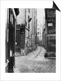 Impasse Des Bourdonnais, from Rue De La Limace, Paris, 1858-78 Posters by Charles Marville