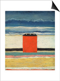 Red House, 1932 Prints by Kasimir Malevich