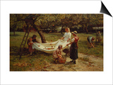 The Apple Gatherers, 1880 Posters by Frederick Morgan
