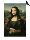 Mona Lisa, ca. 1507 Kunstdruck von  Leonardo da Vinci