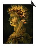 Fire, 1566 Posters af Giuseppe Arcimboldo