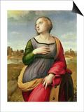 St. Catherine of Alexandria, 1507-8 Poster par  Raphael