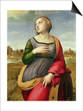 St. Catherine of Alexandria, 1507-8 Poster by  Raphael