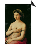 La Fornarina, circa 1516 Art by  Raphael
