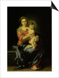 Madonna and Child, after 1638 Prints by Bartolome Esteban Murillo