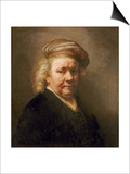 Self Portrait, 1669 Posters by  Rembrandt van Rijn