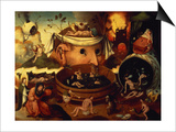 Tondal's Vision Posters by Hieronymus Bosch