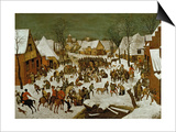 Massacre of the Innocents, 1565-66 Prints by Pieter Bruegel the Elder