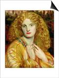Helen of Troy, 1863 Posters by Dante Gabriel Rossetti
