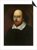 Portrait of William Shakespeare Prints by John Taylor