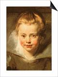 Clara Serena, circa 1616 Posters by Peter Paul Rubens