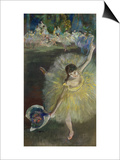 End of an Arabesque, 1877 Posters by Edgar Degas