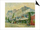 Restaurant de La Sirene at Asnieres, c.1887 Posters by Vincent van Gogh