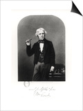 Portrait of Michael Faraday (1791-1867) Prints by Henry Adlard