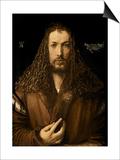 Self Portrait at the Age of Twenty-Eight, 1500 Prints by Albrecht Dürer