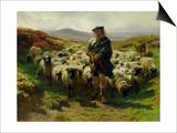 The Highland Shepherd, 1859 Prints by Rosa Bonheur