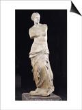 "Aphrodite, the ""Venus De Milo,"" Hellenistic Period, circa 130-100 BC Posters"
