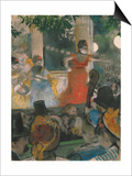 Cafe Concert at Les Ambassadeurs, 1876-77 Prints by Edgar Degas