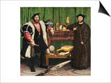 The Ambassadors, 1533 Posters by Hans Holbein the Younger