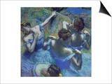 Blue Dancers, circa 1899 Kunstdrucke von Edgar Degas