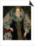 Queen Elizabeth I, circa 1585-90 Prints by John Bettes the Younger