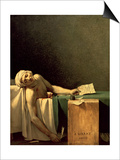 The Death of Marat, 1793 Print by Jacques-Louis David