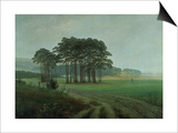 Midday, 1820-25 Posters by Caspar David Friedrich