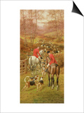 Hunting Scene, 1906 Prints by Edward Algernon Stuart Douglas