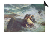 Adieu, 1892 Posters by Alfred Guillou