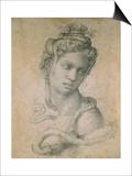 Cleopatra Prints by  Michelangelo Buonarroti
